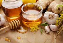 bigstock-Honey-garlic-herbs-lemon-an-145318061-696x464