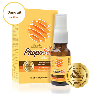 6. Thuốc trị ho hiệu quả với Propobee từ keo ong 1