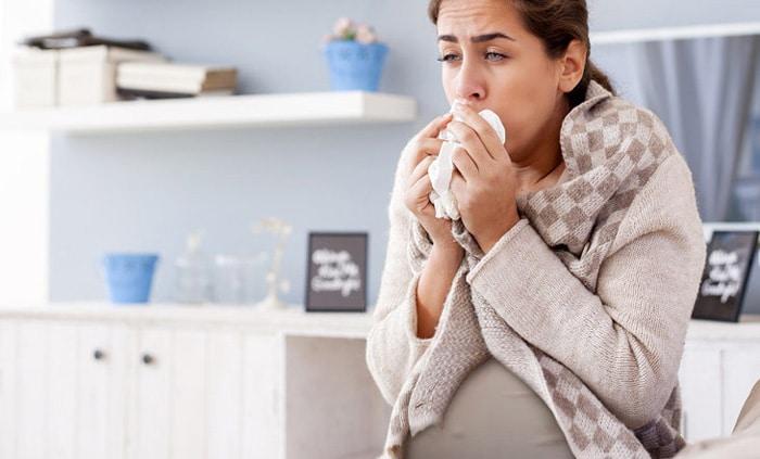 Tại sao bà bầu hay bị cảm cúm, ho? 1