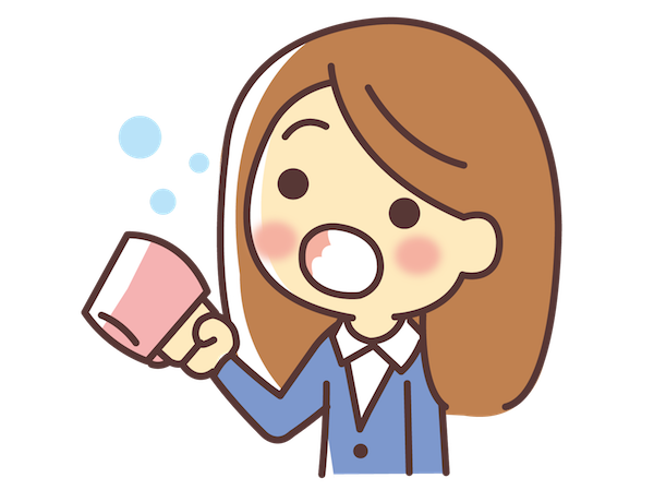 1. Súc miệng nước muối - cách chữa viêm họng quen thuộc và hiệu quả 1